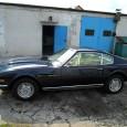 Aston Martin Lagonda V8, rok 1977. Auto trafiło do nas na naprawę blacharsko – lakierniczą tylnego prawego błotnika. Karoseria wykonana z aluminium.